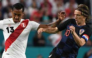 Peru vs Croatia