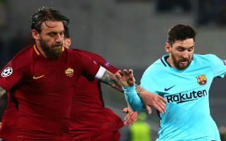 AS Roma vs Barcelona