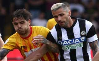 Benevento vs Udinese