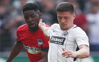 Eintracht Frankfurt vs Hertha Berlin