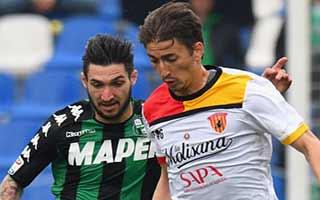 Sassuolo vs Benevento