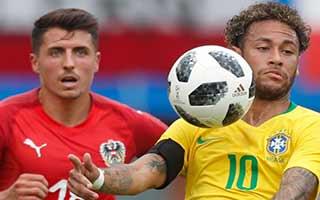 Austria vs Brazil