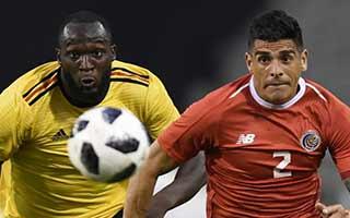Belgium vs Costa Rica