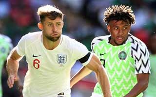 England vs Nigeria