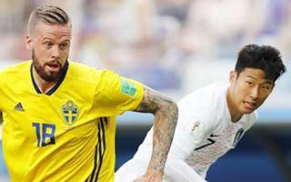 Sweden vs South Korea