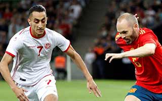 Tunisia vs Spain