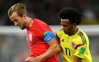 Colombia vs England