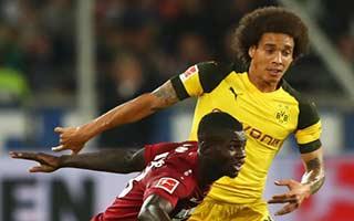Hannover vs Borussia Dortmund