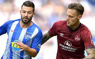 Hertha Berlin vs Nurnberg