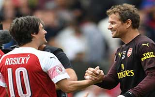 Arsenal Legends vs Real Madrid Legends
