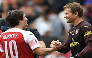 Arsenal Legends vs Real Madrid Legends