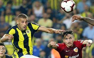 Fenerbahce vs Kayserispor