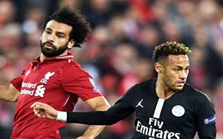 Liverpool vs Paris Saint-Germain