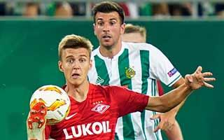 Rapid Wien vs Spartak Moscow