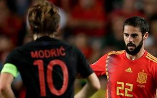 Spain vs Croatia