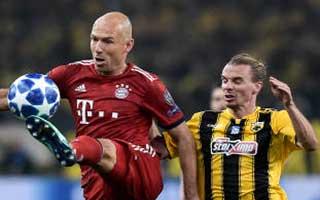 AEK Athens vs Bayern Munich