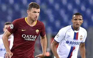 AS Roma vs CSKA Moscow