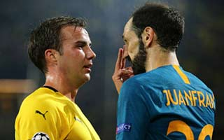 Borussia Dortmund vs Atletico Madrid
