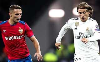 CSKA Moscow vs Real Madrid