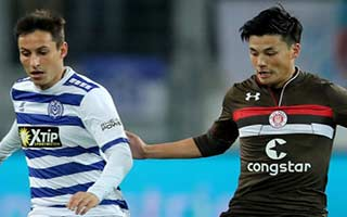 Duisburg vs St. Pauli