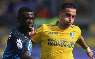 Frosinone vs Empoli