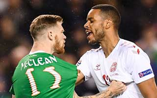 Republic of Ireland vs Denmark
