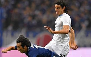Japan vs Uruguay