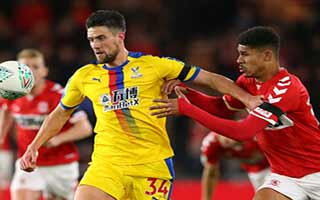 Middlesbrough vs Crystal Palace