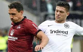 Nurnberg vs Eintracht Frankfurt