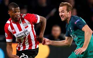 PSV Eindhoven vs Tottenham Hotspur