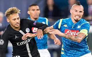 Paris Saint-Germain vs Napoli