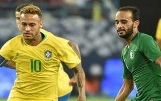 Saudi Arabia vs Brazil
