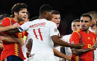 Spain vs England