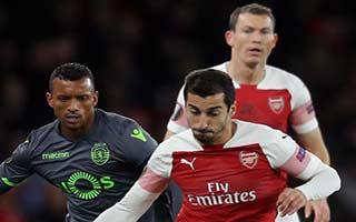 Arsenal vs Sporting CP