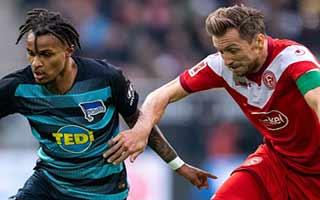 Fortuna Dusseldorf vs Hertha Berlin