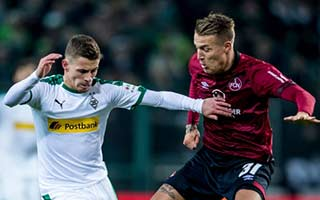 Borussia Monchengladbach vs Nurnberg