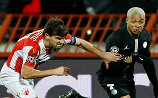FK Crvena Zvezda vs Paris Saint-Germain