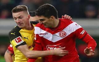 Fortuna Dusseldorf vs Borussia Dortmund