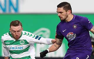 Greuther Furth vs Erzgebirge Aue