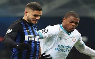 Inter vs PSV Eindhoven