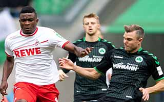 Koln vs Greuther Furth