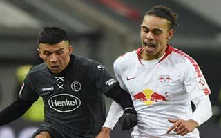 Fortuna Dusseldorf vs RasenBallsport Leipzig