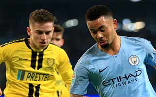Manchester City vs Burton Albion