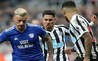 Newcastle United vs Cardiff City