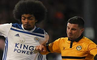 Newport County vs Leicester City