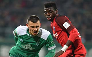 Werder Bremen vs Eintracht Frankfurt