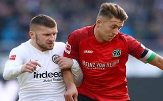 Hannover vs Eintracht Frankfurt