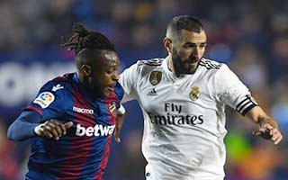 Levante vs Real Madrid