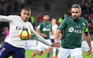 Saint-Etienne vs Paris Saint-Germain