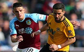 Burnley vs Wolverhampton Wanderers